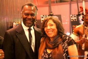 Levi Roots and Joyce Fraser