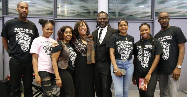 Black heroes youth workshops