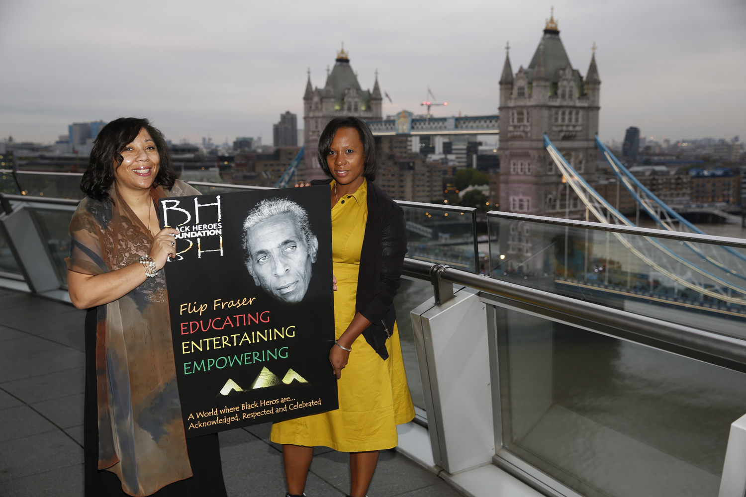 The launch of Black Heroes Foundation at City Hall