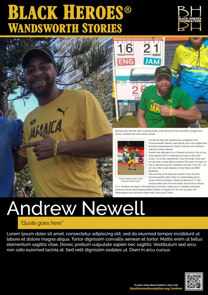 Andrew Newell Wandsworth Stories