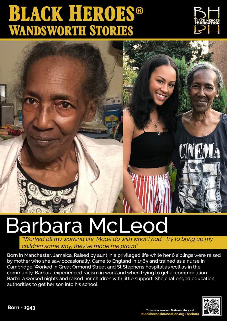 Barbara McLeod Wandsworth Stories