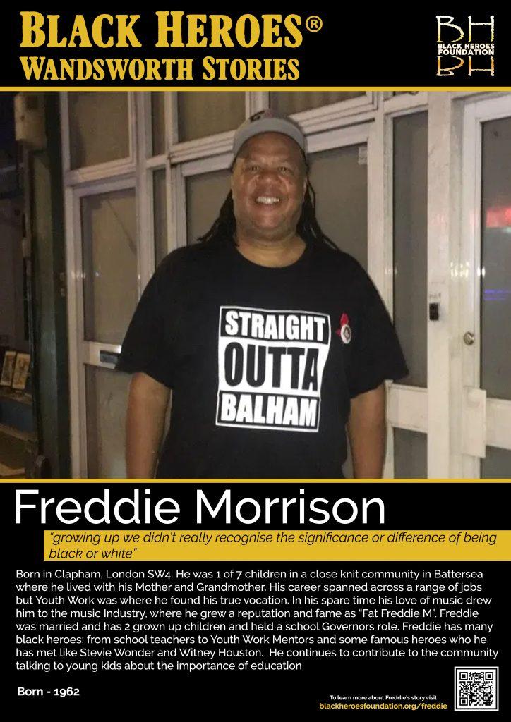 Freddie Morrison Black Heroes Stories Wandsworth
