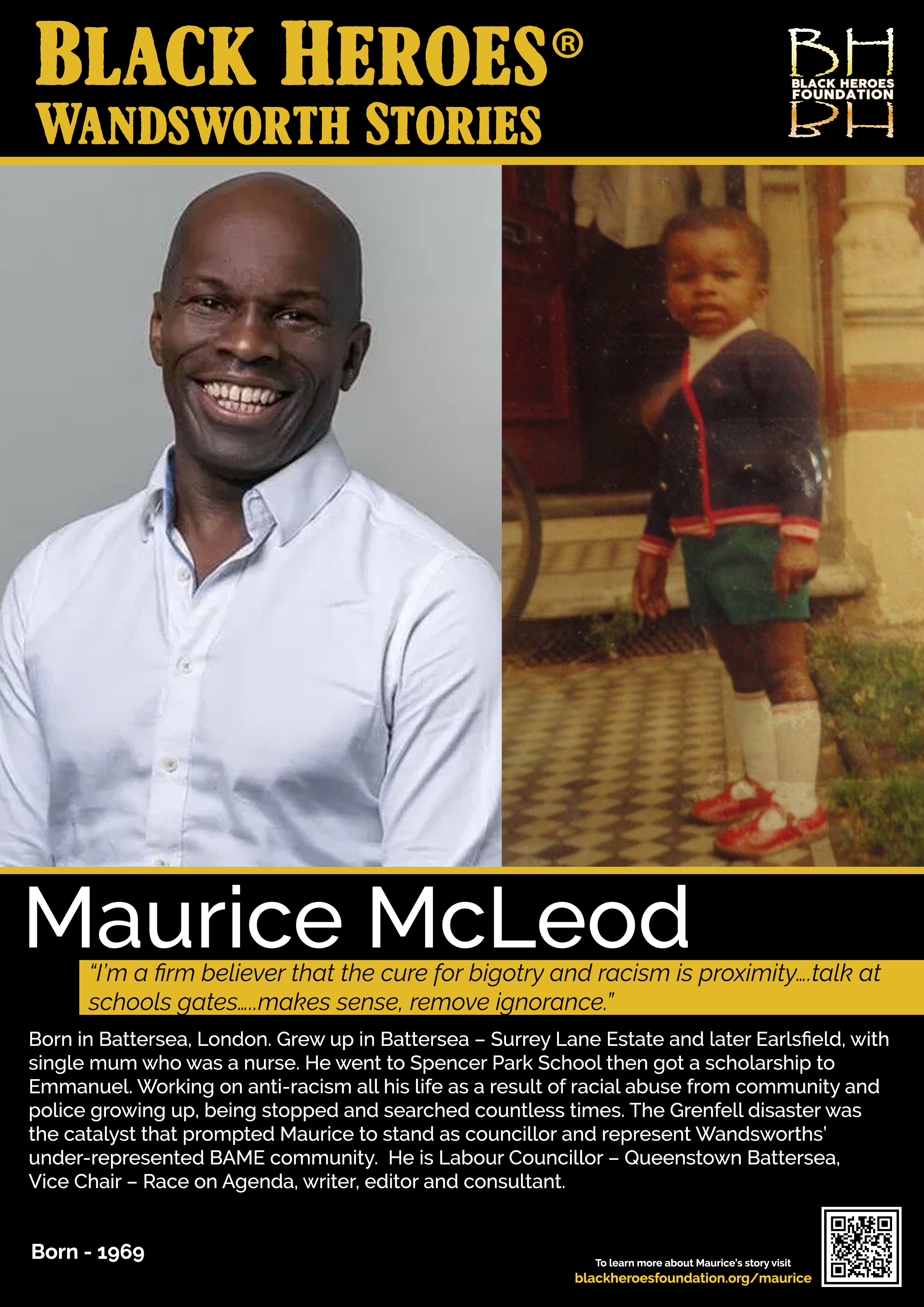 Maurice McCleod Labour Councillor