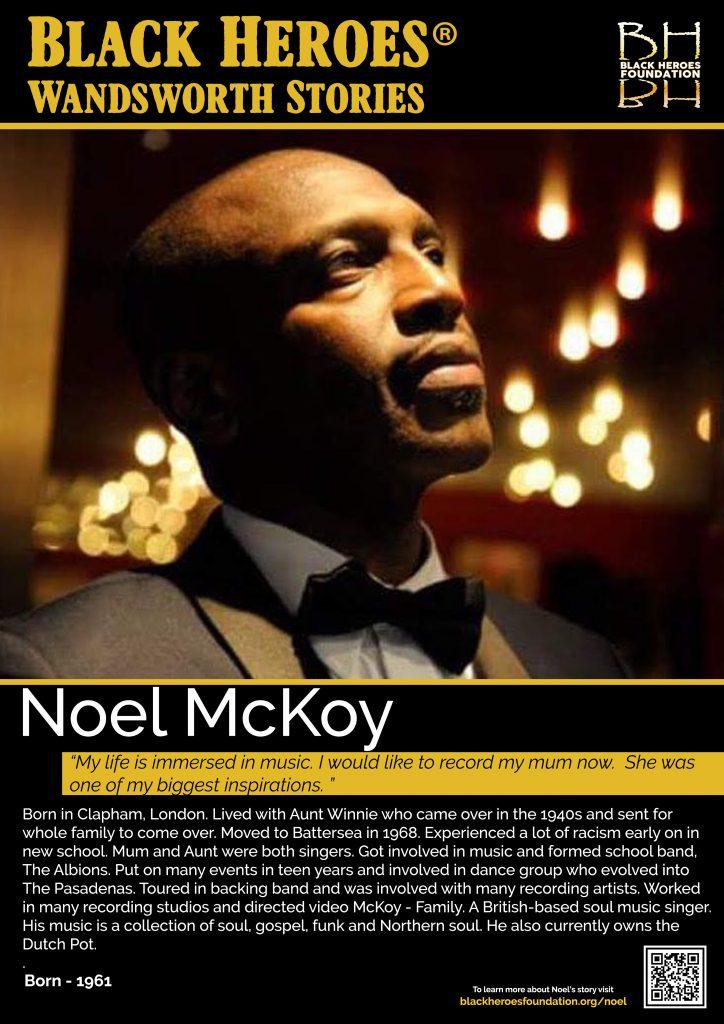 Noel McKoy Black Heroes Wandsworth Stories