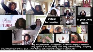 Virtual Locomotion Lockdown Breakout