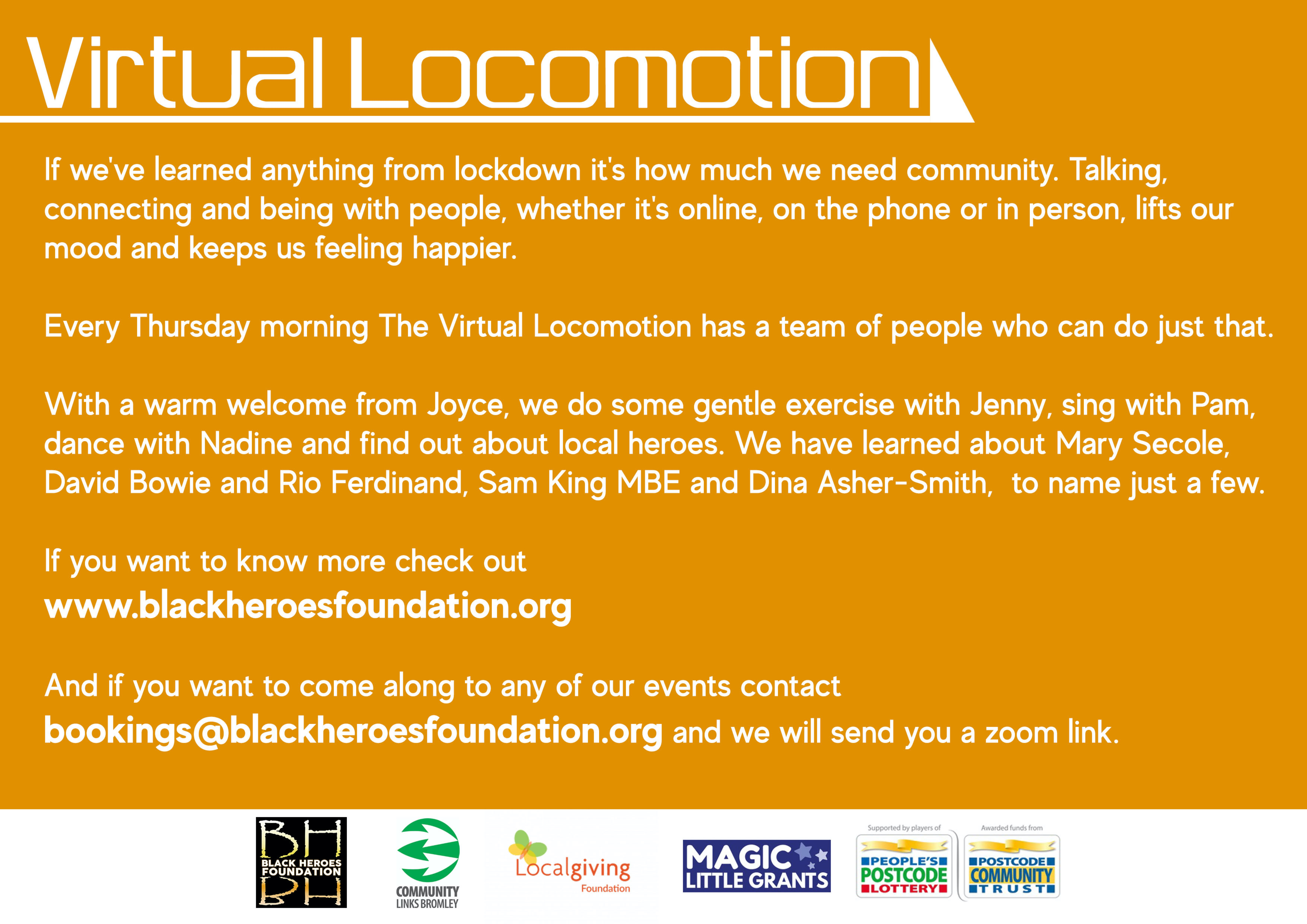 Lockdown Virtual Locomotion