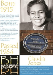 Claudia Jones London's great black women