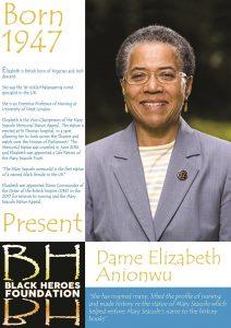 Dame Elizabeth Anionwu London's great black women