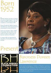 Doreen Lawrence London's great black women