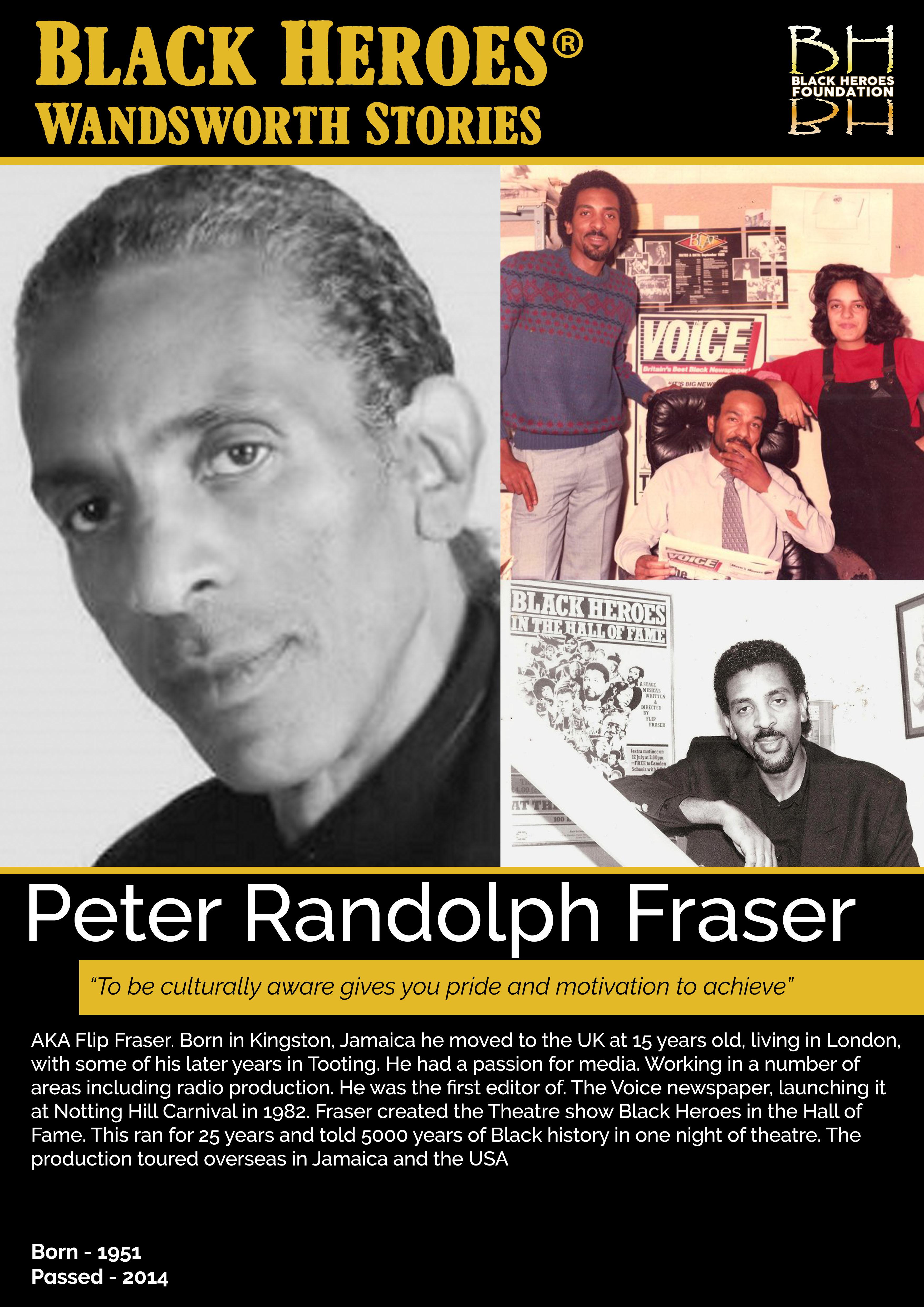 Flip Fraser Wandsworth Stories