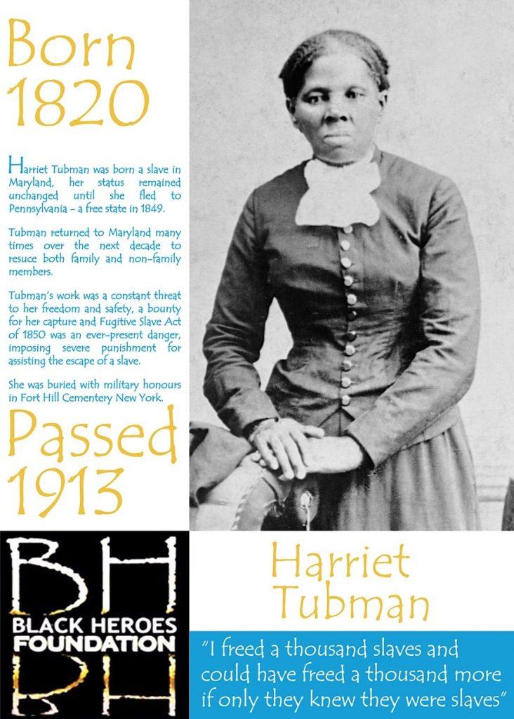 Harriet Tubman Freed Slaves