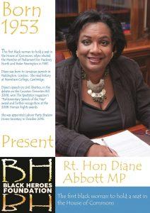 Diane Abbott London's great black women