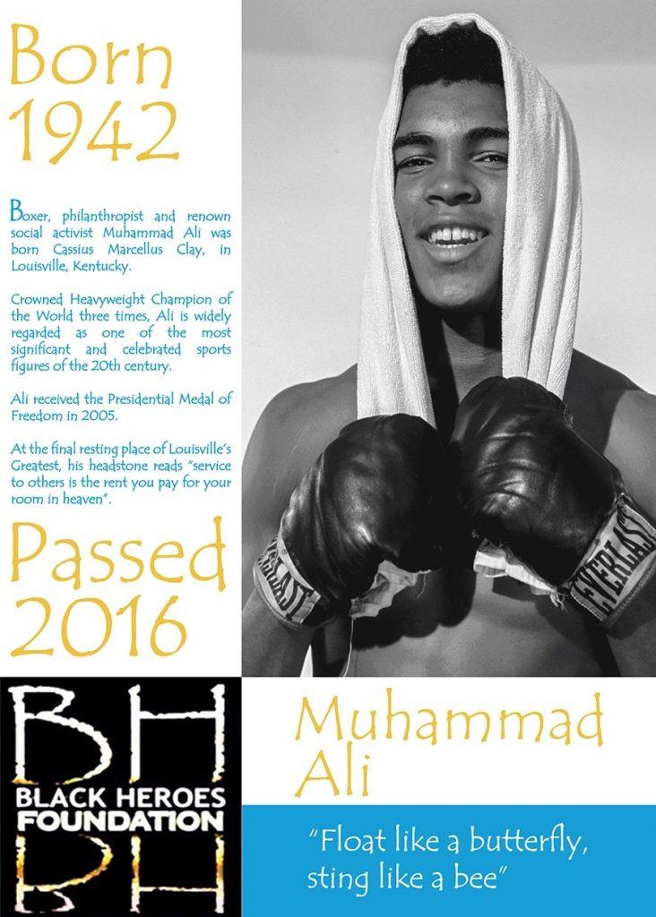 Muhammad Ali Heavyweight World Champion