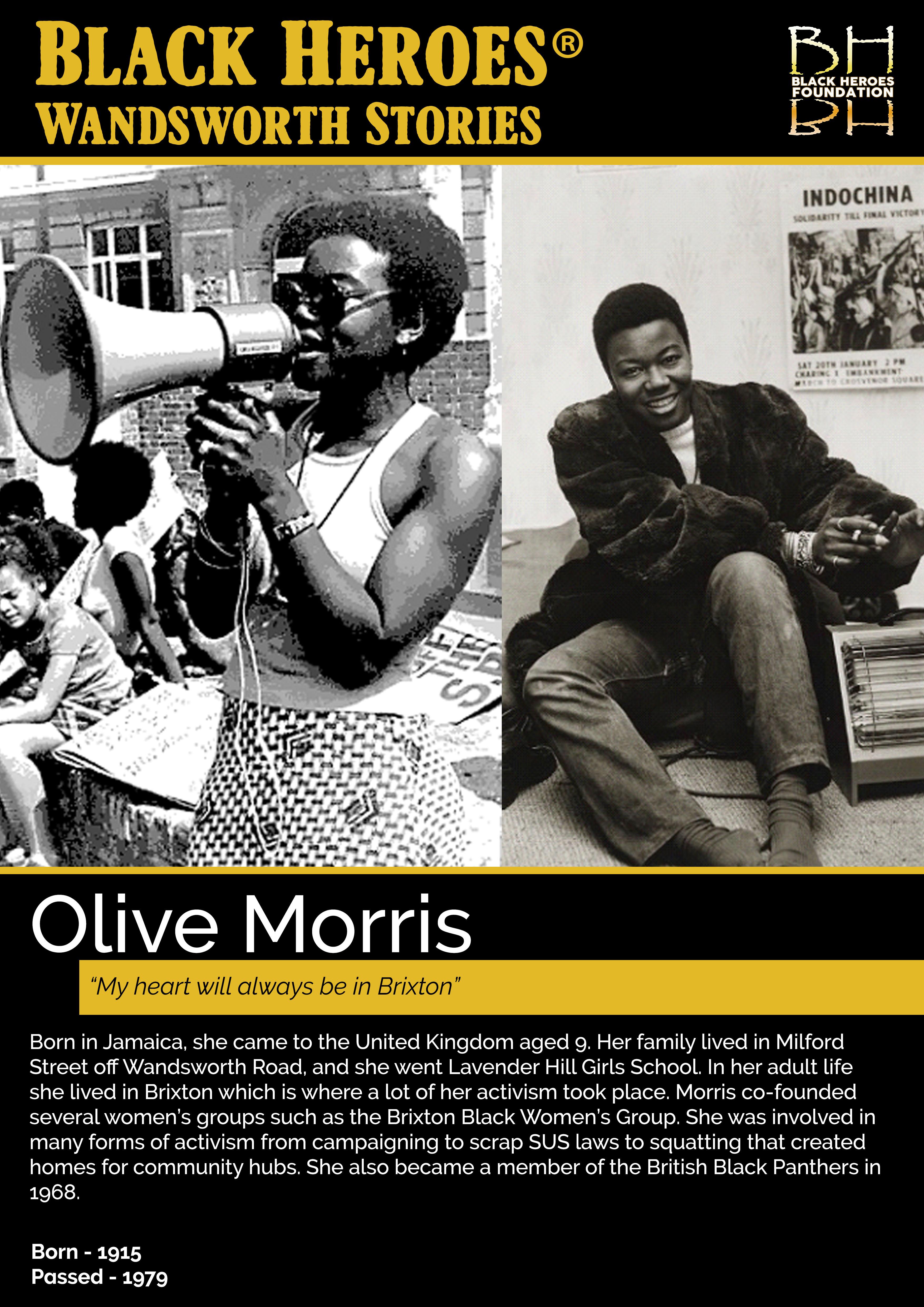 Olive Morris Wandsworth Stories