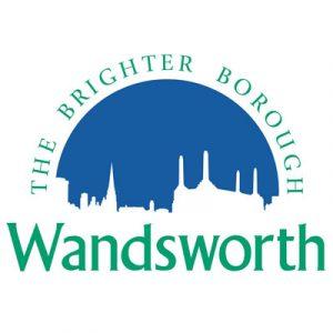 Wandsworth Council The brighter Borough Logo Supporter