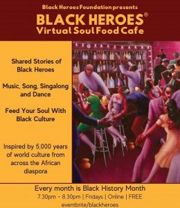 Black Heroes Virtual Soul Food Cafe online