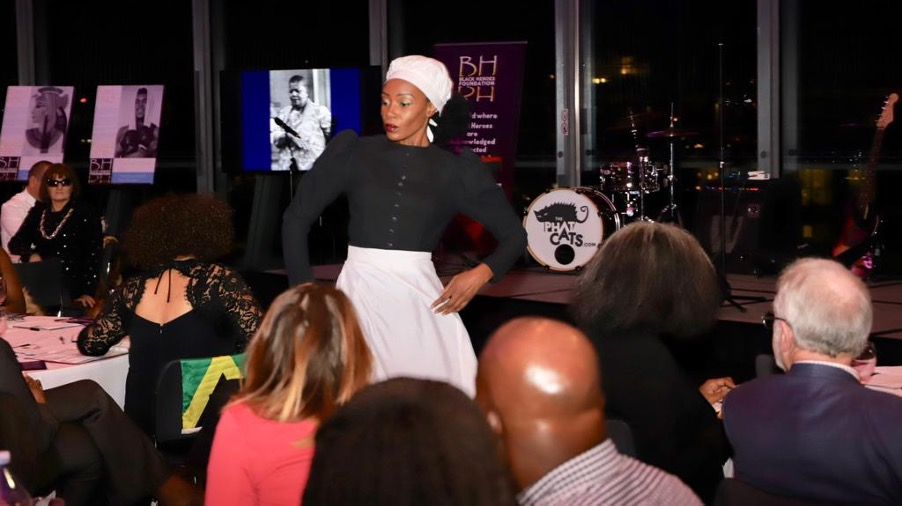 Dance and song sequence telling the story of Mary Seacole